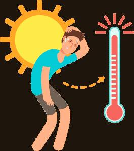 Ola de calor en Alcalá